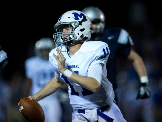 One of the state's top passers Michael Lindauer used