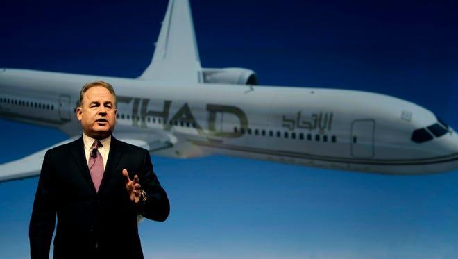 James Hogan is president and CEO of Etihad Airways.