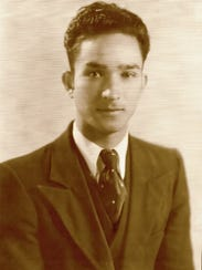 Fred Frietz Oliver, shown here in a 1936 photo, was