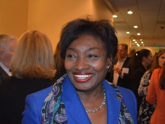 State Sen. Andrea Stewart-Cousins sponsored the Greenburgh