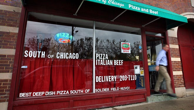 WeekEnd restaurant review on, South of Chicago Pizza and Beef (619 Virginia Ave) ::: Pictured here, an exterior of the establishment. Frank Espich/The Star