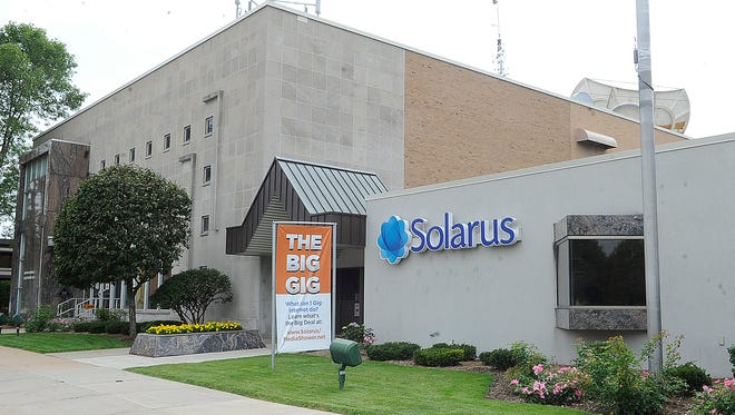 Solarus is a Wisconsin Rapids-based internet, cable and telephone company.