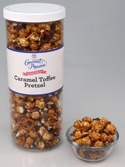Caramel Toffee Pretzel is a new flavor of popcorn from Baskin-Robbins.