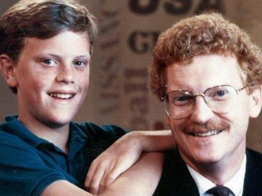Willie Geist with his father Bill Geist (Photo: Willie Geist)