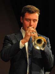 Trumpeter Cameron Roche will perform with the Salem