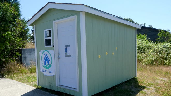 The congregation of Port Orchard Church of Christ has voted to move forward with a proposal to house a tiny house village on its grounds on Salmonberry Road. The homes are about the size of a garden shed.