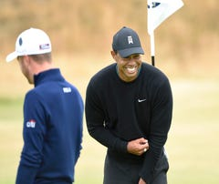 Tiger Woods not feeling old at oldest championship in golf