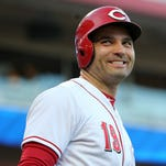 Joey Votto on the earthquake: I got taken out of the game because of it, are you kidding me? I'm a sensitive soul (wink, wink)