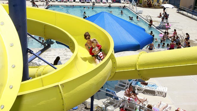 The Friends of the Bloomfield Aquatic Center will be able to present elementary school children with free passes to the facility, thanks to a funding award announced Thursday by the Navajo Transitional Energy Company.