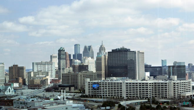 The City of Detroit, pictured on April 9, 2008.