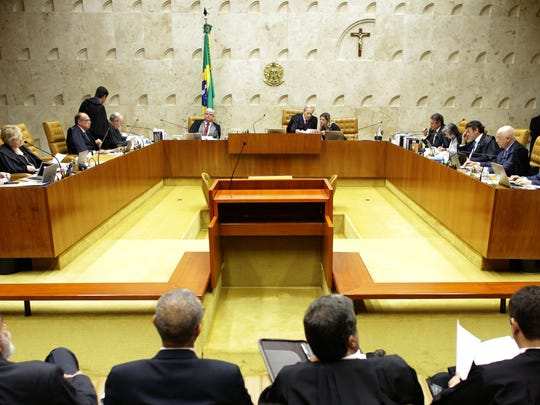 Brazil's Supreme Court discusses impeachment proceedings