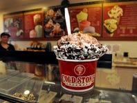 Cold Stone Creamery; best ice cream, milkshake, and dessert. Chocolate Devotion ice cream cup.