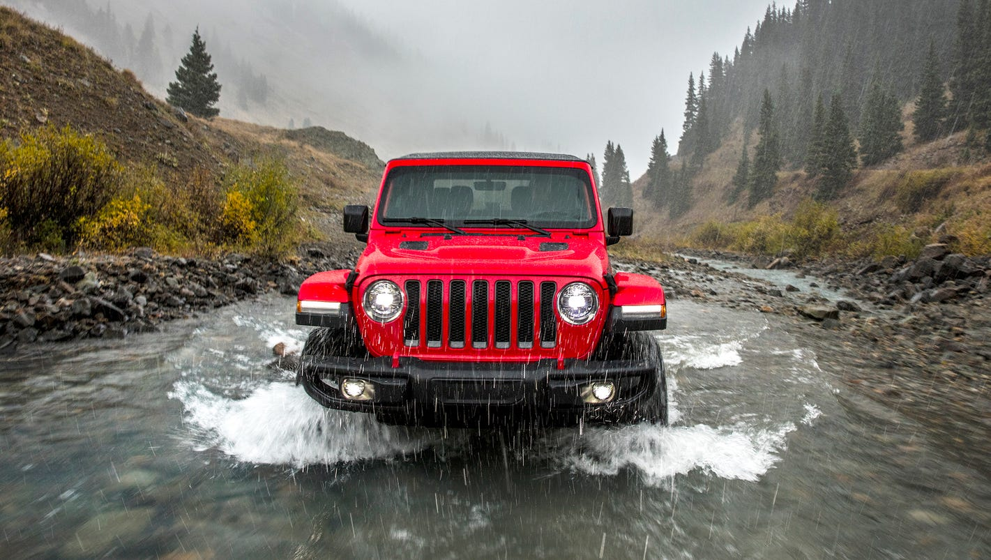 fca keeps new 2018 jeep wrangler iconic and adds modern touches. Black Bedroom Furniture Sets. Home Design Ideas