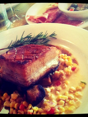 Pork Belly at Bros.