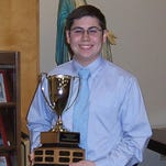 State winner Jake Diana will represent St. Mark's at the national Shakespeare Competition in May.