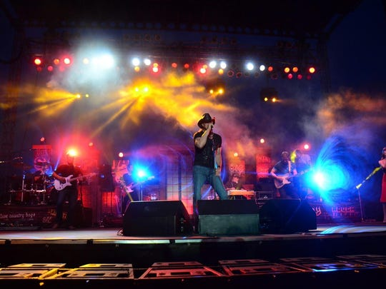 """Trace Adkins' past performance at Headwaters Country Jam. His """"Don't Stop Tour"""" 2019 will make its way to the Montana State Fair on July 31."""