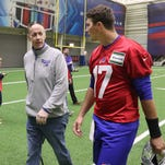 Meeting Jim Kelly turned out to be the highlight of Josh Allen's first day with Bills