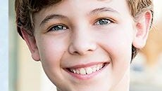 A screen shot of Arick Brooks from the National Broadway Tour's website (thesoundofmusicontour.com)