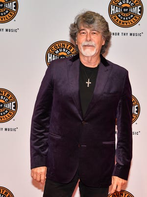 Randy Owen of Alabama on the Red Carpet at the Country Music Hall of Fame Medallion Ceremony at the Country Music Hall of Fame on Sunday, October 22, in Nashville, Tenn.