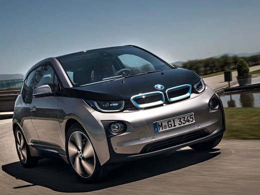 Test Drive Bmw I3 Has Electrifying Moments
