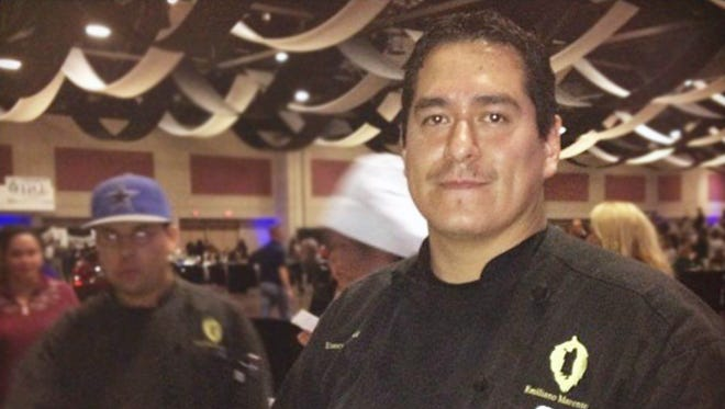 El Paso chef Emiliano Marentes is one of 10 semifinalists vying for a chance to compete on the Food Network.