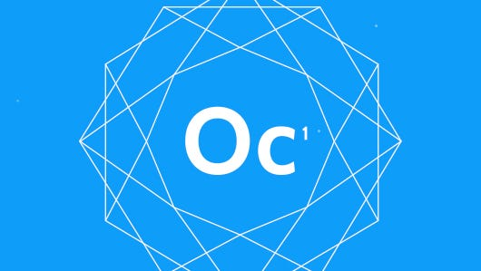 A logo for the Oculus Connect developers conference.