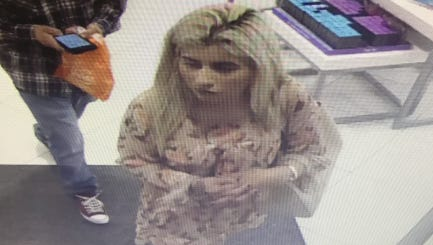 Simi Valley police are seeking the public's help in identifying the woman depicted in this surveillance footage.