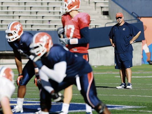 UTEP football coach Sean Kugler and the Miners had one final practice Wednesday as they prepared for Friday's annual spring game at the Sun Bowl.