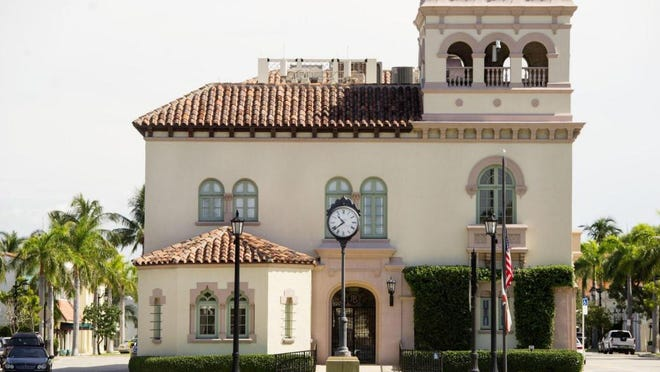 Meetings of the monthly Palm Beach Architectural Commission typically take place in Town Hall, although Wednesday's meeting was held by phone in response to concerns about the coronavirus health crisis.