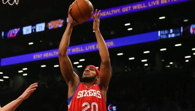 Sixers forward Brandon Davies is expected to miss at least a month after surgery for a fractured finger.
