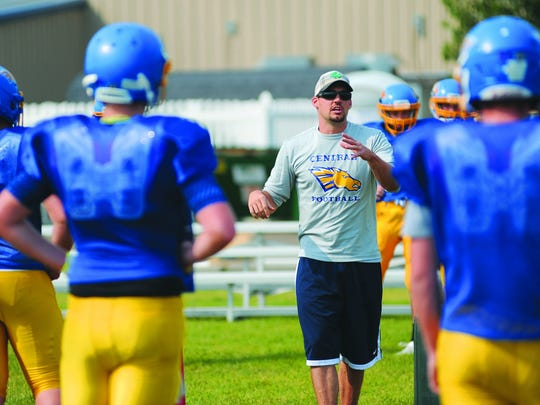 Greg Horton has taken the Great Falls Central Mustangs to the state championship football game in his second season as head coach.