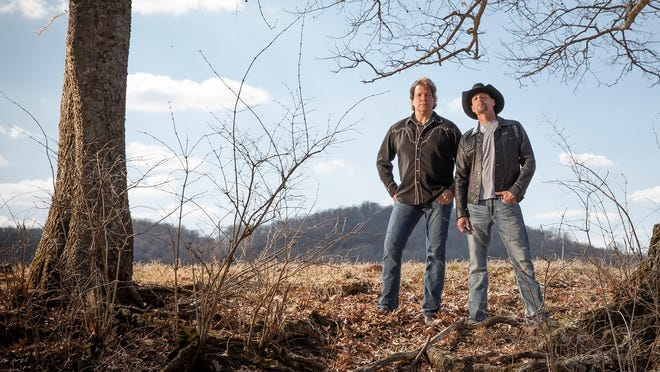 Henry Paul, left, and Dave Robbins of BlackHawk will release their first album in 12 years this summer.