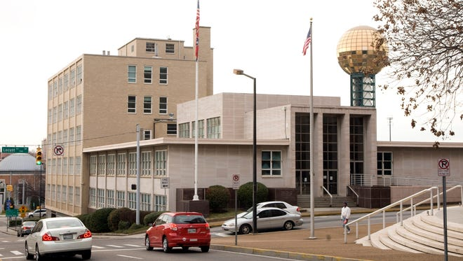 Knoxville is getting ready to seek bids for redevelopment of the old state Supreme Court Building downtown. Plans call for a mixed-use development.(NEWS SENTINEL ARCHIVE)