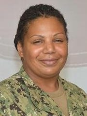Navy Constructionman Patrese Brockington, an engineering