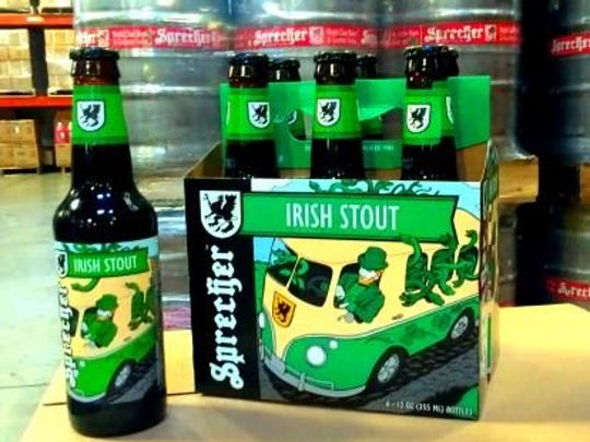 The Irish Stout is an alternative to green beer for St. Patrick's Day.