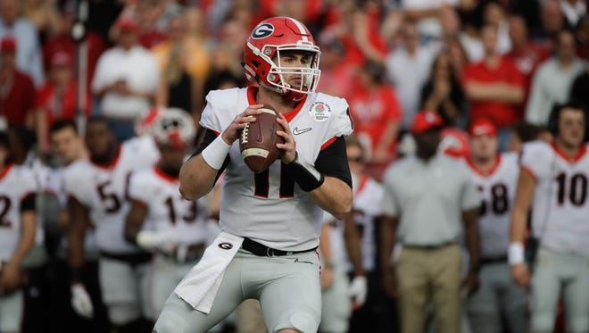 Georgia quarterback Jake Fromm