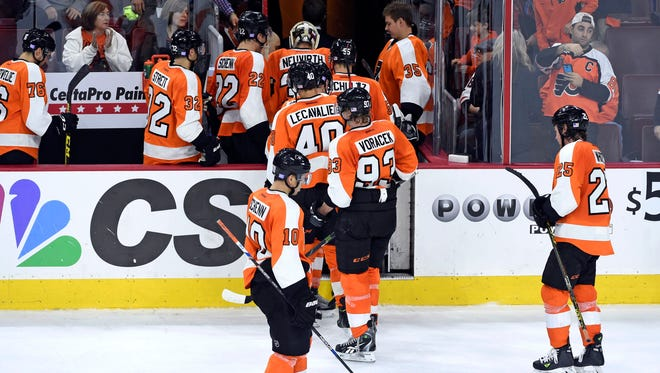 The Flyers had the second-lowest goal total in the NHL heading into Wednesday's action.