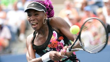 Tennis star Venus Williams received her Bachelor of Science in Business Administration degree from IU East on Aug. 14, 2015.