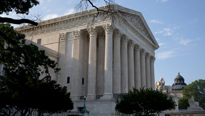 The Supreme Court in Washington on June 25, 2015.