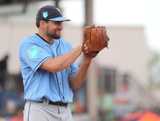 USP MLB: SPRING TRAINING-TAMPA BAY RAYS AT DETROIT S BBA DET TB USA FL