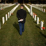 An average of 20 veterans a day committed suicide in 2014. The trend showed high rates among young male veterans and suicidal tendencies among female veterans, according to the VA.