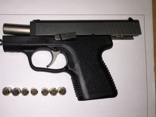 Gun found at airport