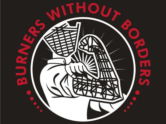 The logo for burners without borders. (Special to The Detroit News)