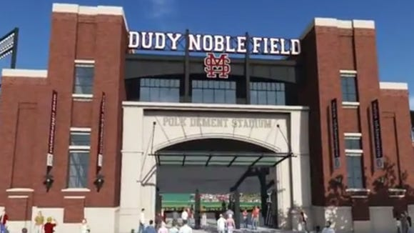 Mississippi State released concept designs for a rebuild of Dudy Noble Field on Tuesday.