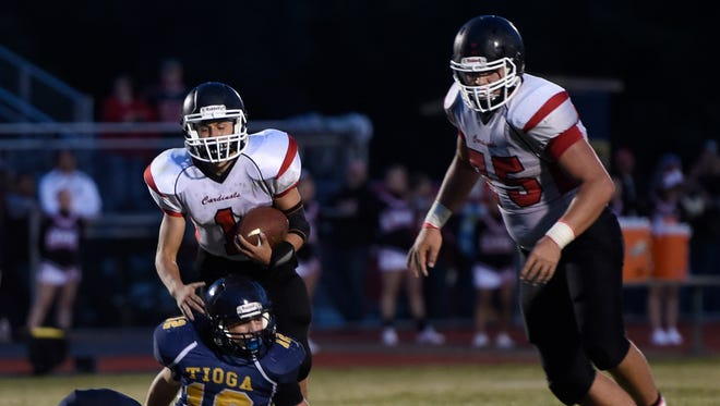 Tyler Beebe, Trentyn Rupert and the rest of the top-ranked Newark Valley Cardinals will take on top-ranked Sidney on Saturday.