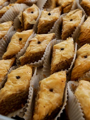 Dig into some mouth watering Greek foods at this weekend's Asheville Greek Festival.