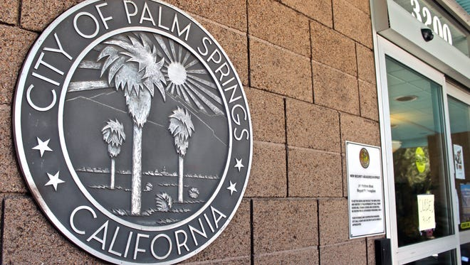Incoming phone lines at Palm Springs city hall were down following weekend storms.