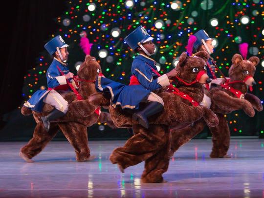 The new Dancing Bear Cavalry in Nashville Ballet's