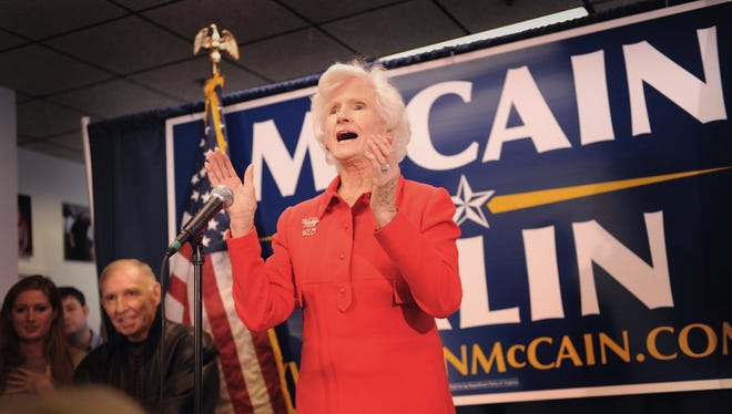Roberta McCain is the mother of Arizona Sen. John McCain.