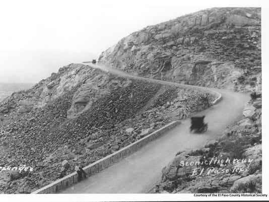 SCENIC DRIVE CIRCA 1930